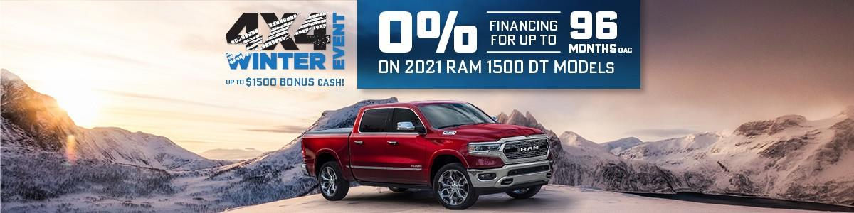 RAM Discount Offers at Wellington Chrysler Dodge Jeep Ram in Guelph